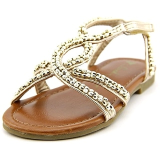 Sarah Jayne Lil Brighty Open Toe Synthetic Sandals