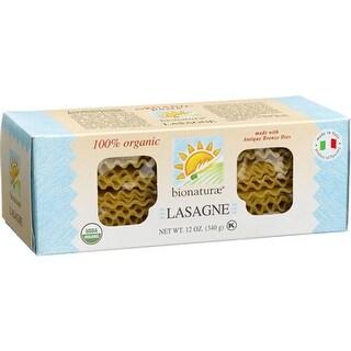 Bionaturae - Lasagna Pasta ( 12 - 12 oz bags)