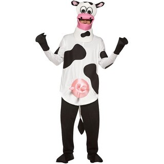 Rasta Imposta Lightweight Cow Adult Costume - Solid - one-size