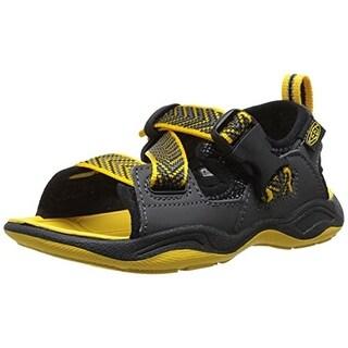 Keen Boys Rock Iguana Open Toe Sport Sandals - 2 medium (d)