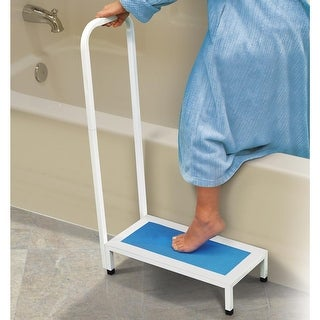 Bath and Shower Step Stool with Handle