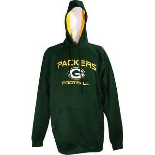 Green Bay Packers Men's Poly-Fleece Pullover Hoodie