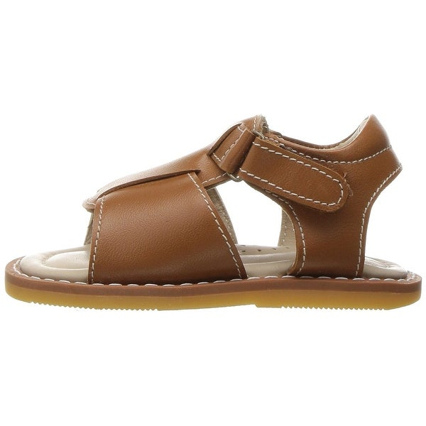 Elephantito Baby TBB135 Boy Sandal Leather , Natural, Size 4 M US Boys