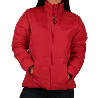Vantage Misses Lightweight Rip-Stop Quilted Jacket
