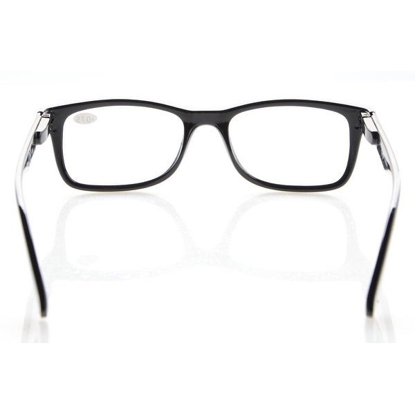 0.5 Eyekepper Readers Spring-Hinges Quality Classic Vintage Style Reading Glasses Black-Brown