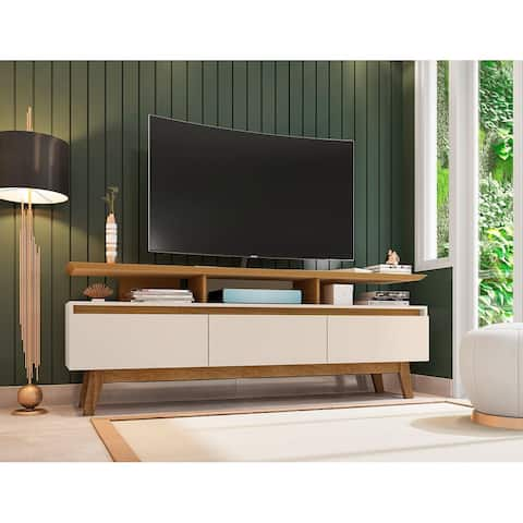 Yonkers Mid Century Modern Wood 70.86 TV Stand