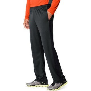 Hanes Sport X-Temp Men's Performance Training Pants with Pockets - Color - Stealth/Black - Size - XL