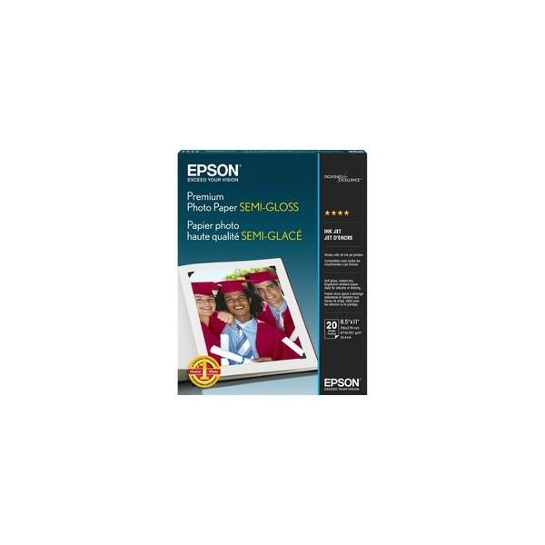 Epson Premium Semi-Gloss Photo Paper Semi-gloss Photo Paper