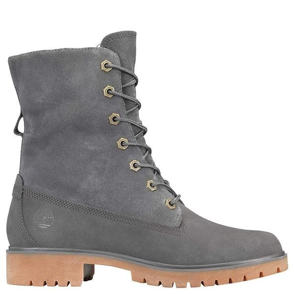hospital partido Democrático Dinkarville  Timberland Women's Jayne Waterproof Teddy Fleece Fold Down Fashion Boot -  Overstock - 28040729
