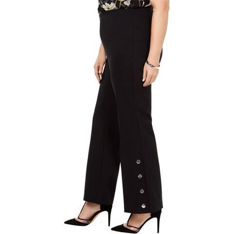 I-N-C Womens Embellished Casual Trouser Pants