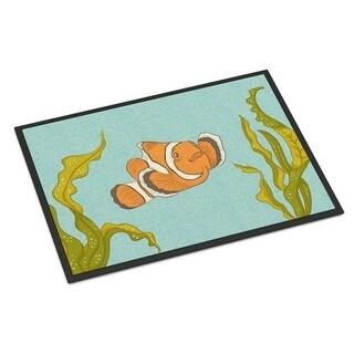 Carolines Treasures BB8543JMAT Clown Fish Indoor Or Outdoor Mat - 24 x 36 in.