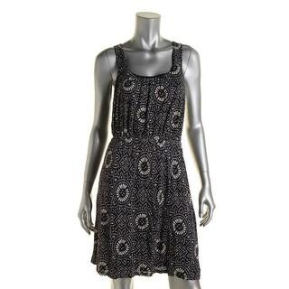 Lucky Brand Womens Sleeveless Mini Casual Dress
