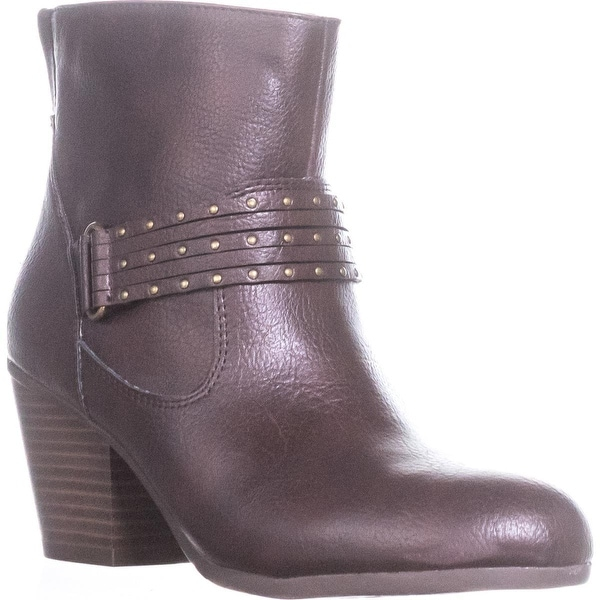 Aerosoles Longevity Studded Ankle Booties, Brown - 8 us