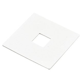 Elco EP800 Track-22 Outlet Box Cover - White