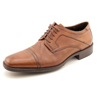 Johnston & Murphy Larsey 2Cap Square Toe Leather Oxford