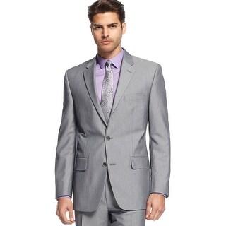 Alfani Black Label Regular Fit Light Grey Sportcoat Blazer 38 Regular 38R
