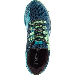 Merrell Womens All Out Of Charge Sneakers Mesh Running Shoes - 5 medium (b,m)