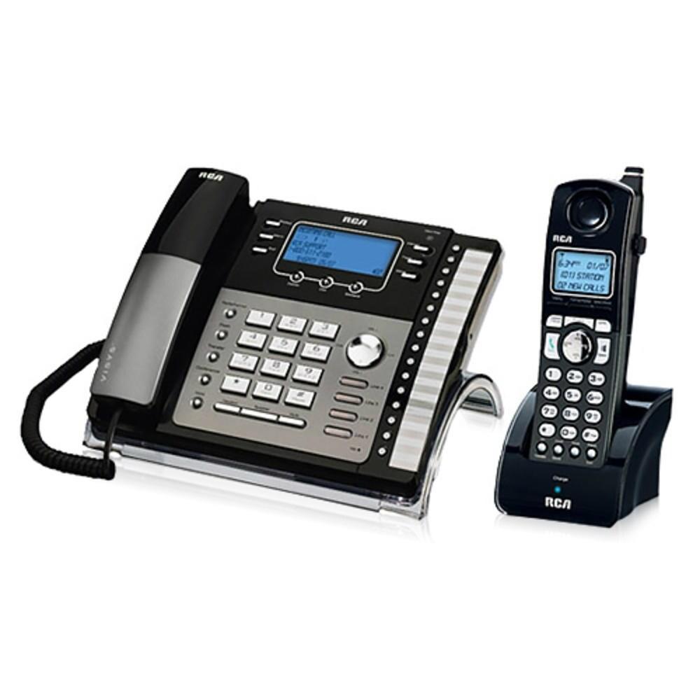RCA ViSYS 25425RE1 Kit 4 Line Corded Phone Kit