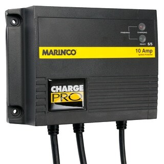 Marinco 10A On-Board Battery Charger - 12/24V - 2 Banks