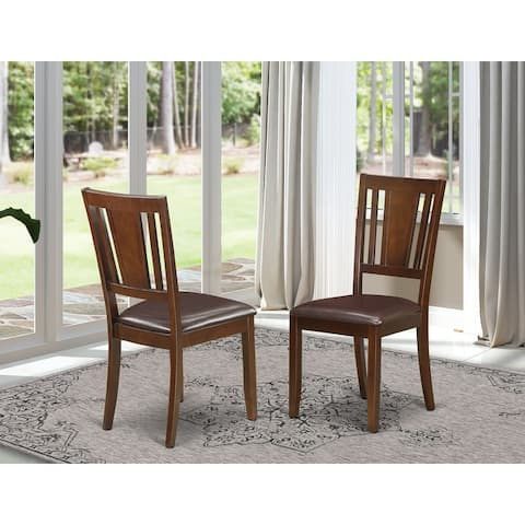 Dudley Mahogany Dining Chair (Set of 2)