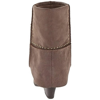 Fergie Womens Knack Studded Booties