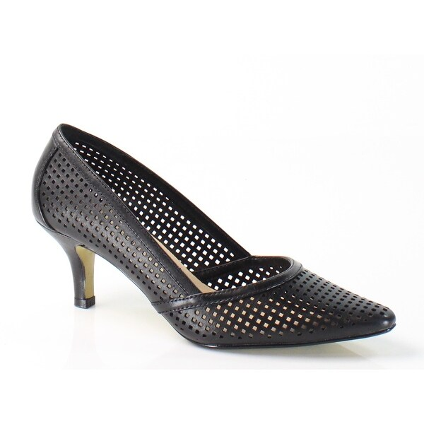 Bella Vita NEW Black Willa Shoes Size 8.5N Pumps Leather Heels