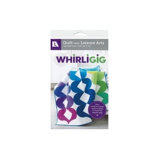 Link to Leisure Arts Whirligig Quilt Ptrn Similar Items in Sewing & Quilting