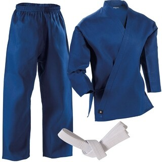 Century 7 oz. Middleweight Student Uniform with Elastic Pant - Blue