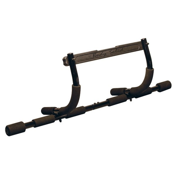 Body-Solid Mountless Push Up/Pull Up Bar - Black