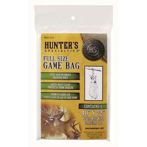 Hunters specialties 01237 hs field dressing game bag deer size 40x72