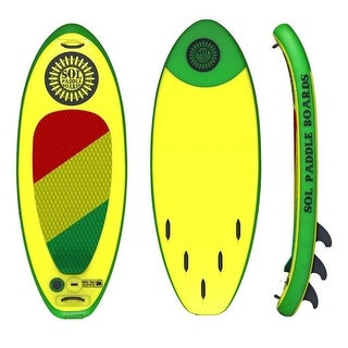 SOL Paddle Board SOLjah 7' Inflatable SUP carries up to 300 lbs