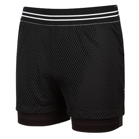 Ideology Girls Mesh Athletic Workout Shorts - 16