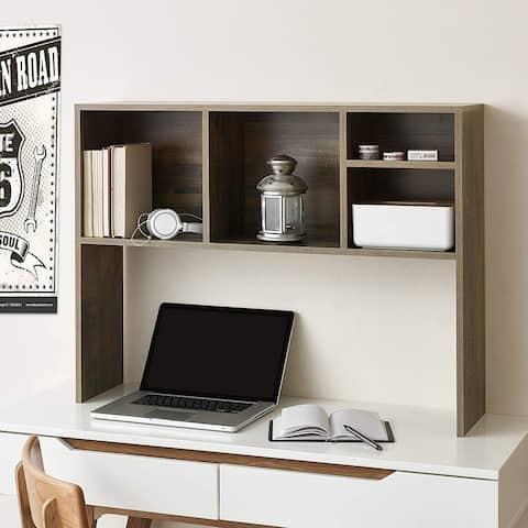 The College Cube - Dorm Desk Bookshelf - Rustic
