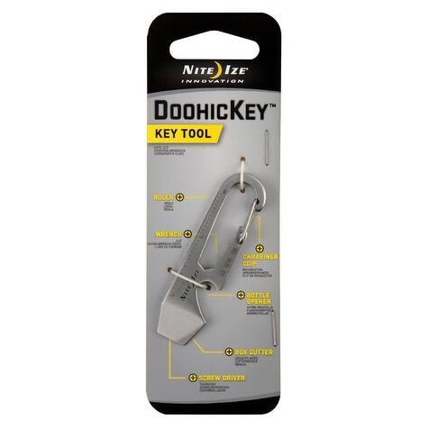 Nite Ize KMT-11-R3 Stainless Steel Doohickey Key Tool
