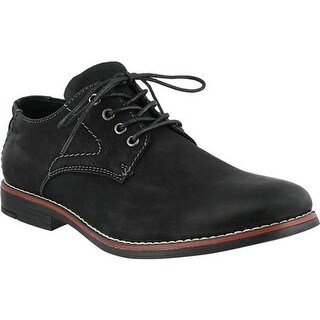 Spring Step Men's Montenegro Oxford Black Nubuck Leather