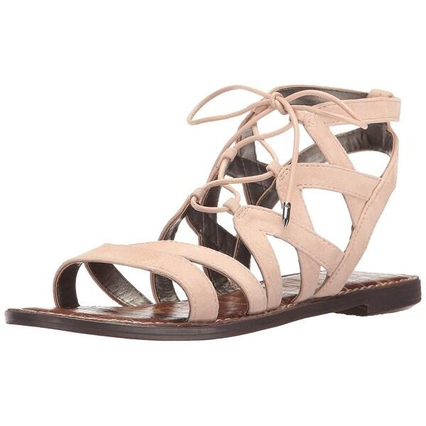 Sam Edelman Womens Gemma Suede Open Toe Casual Strappy Sandals