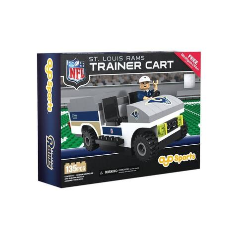St. Louis Rams NFL OYO Sports Mini Figure Trainer Cart - Multi