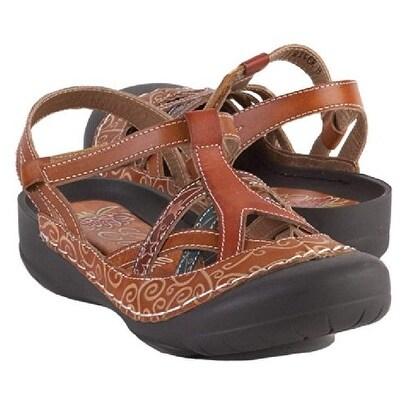 Corkys Women's River Sandal - Amber