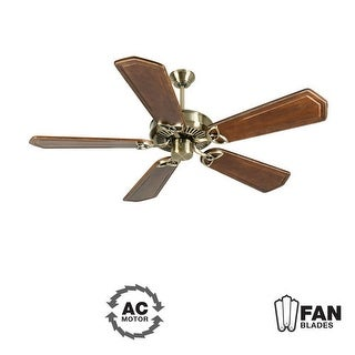 """Craftmade K10929 CXL 56"""" 5 Blade Energy Star Indoor Ceiling Fan - Blades Included - Antique Brass"""