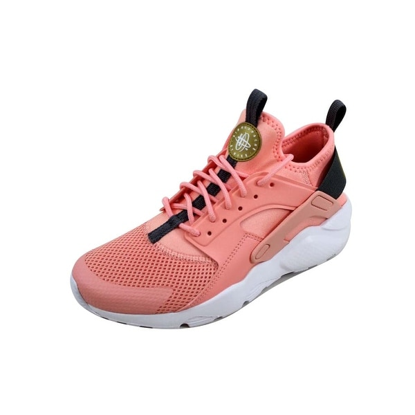 61e0689a1e7f Nike Grade-School Air Huarache Run Ultra Bleached Coral Metallic Gold  847568-600