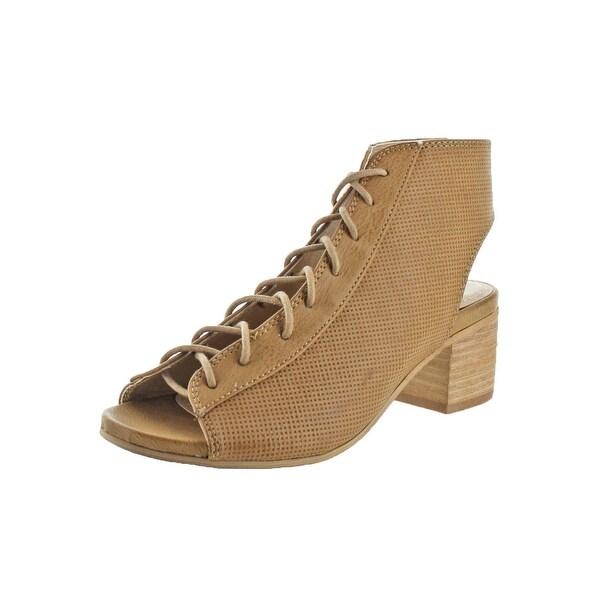 Sbicca Womens Hogan Dress Sandals Open Toe Block Heel