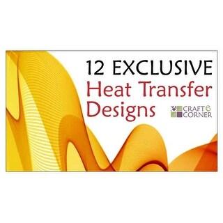 Exclusive Heat Transfer Craft-E-Corner Silhouette Designs Tutorials Projects