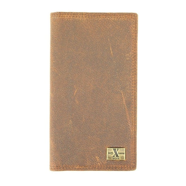 Nocona Western Wallet Mens Checkbook HDX Extreme Work - One size
