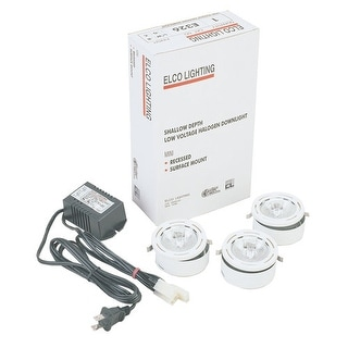 Elco E326 Miniature Halogen Downlight Kit for Surface Mount - Chrome
