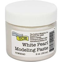 White Pearl - Crafter's Workshop Modeling Paste 2Oz