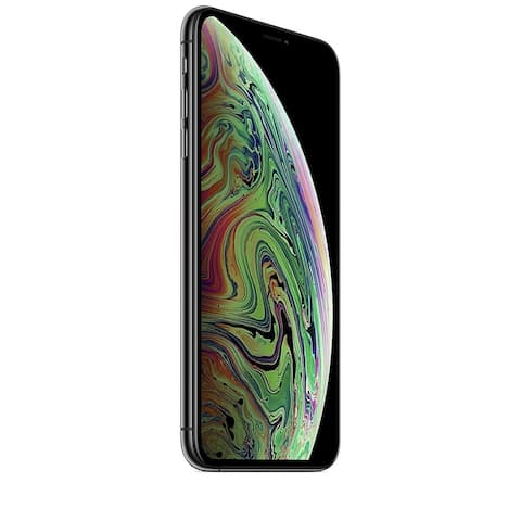 """Apple iPhone XS Max 512GB 6.5"""" 4G LTE FullyUnlocked,Space Gray (Refurbished) - Space Gray"""