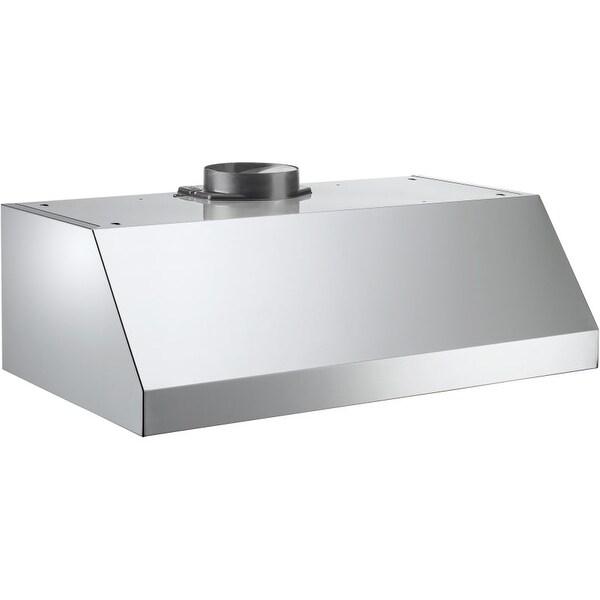 Shop Bertazzoni Ku24pro1v 400 Cfm 24 Inch Wide Under Cabinet Range