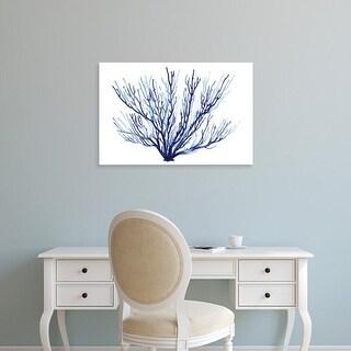 Easy Art Prints Grace Popp's 'Azure Fan II' Premium Canvas Art