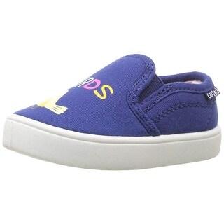 Carter's Kids Tween Girl's Casual Slip-on Sneaker,