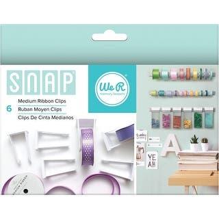 Snap Storage Ribbon Clips 6/Pkg-Medium|https://ak1.ostkcdn.com/images/products/is/images/direct/15839c652e5d1a287e04fe6746f0a8b3b8e67596/Snap-Storage-Ribbon-Clips-6-Pkg-Medium.jpg?impolicy=medium